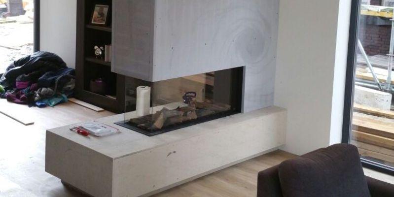 Roomdevider In Woonkamer : Roomdivider gashaard tussen woonkamer en eetkamer obly