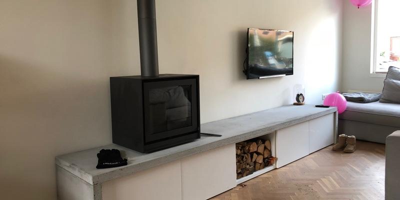 Hippe houtkachel voor in de woonkamer | kachels.nl